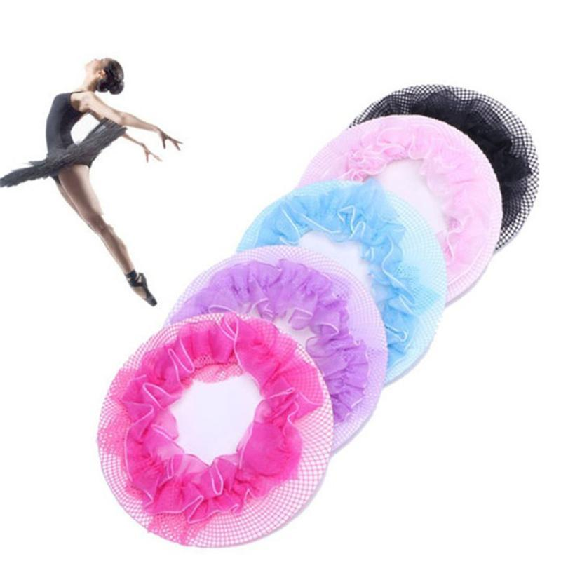 5шт многоразового Hairnet волос Сетка для париков Плетение Невидимых Танцы Hairnet для Bun укладки волос инструмента женщин девочек