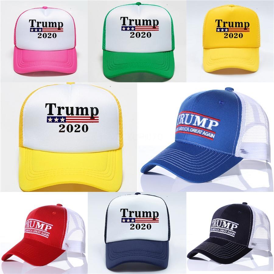 EE.UU. Bandera Cap algodón del sombrero de las gorras de béisbol 45 Presidente Donald Trump Soporte gorra de béisbol del Snapback ajustable unisex Novedad Sombreros Gga3363-5 # 598