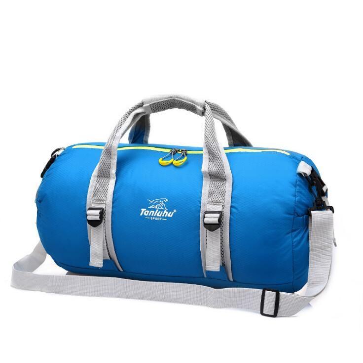 La borsa a tracolla multifunzionale di forma fisica di addestramento della borsa di sport all'aperto di nylon 2019 superiore con le scarpe insacca la borsa di duffle delle borse di viaggio della tasca bagagli