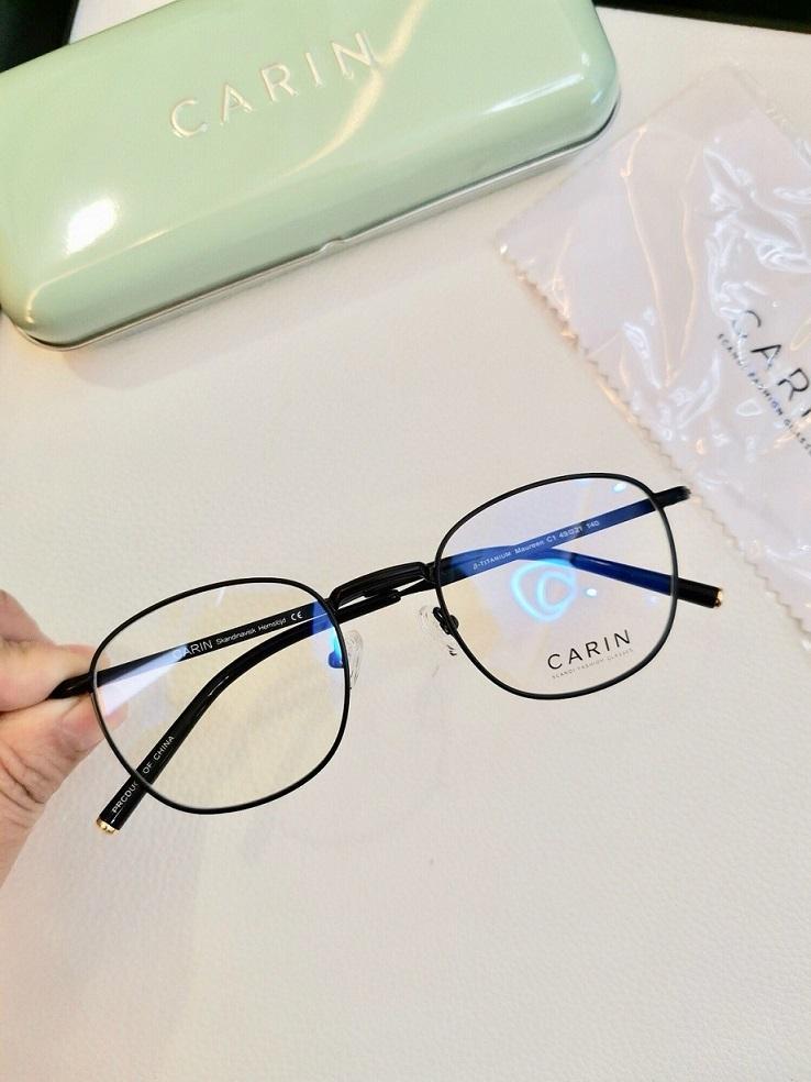 Carin Corea para mujer llanta llena redonda retro combinación gafas marcos marcos diseñador gafas moda prescripción gafas gemelos más hjrxj