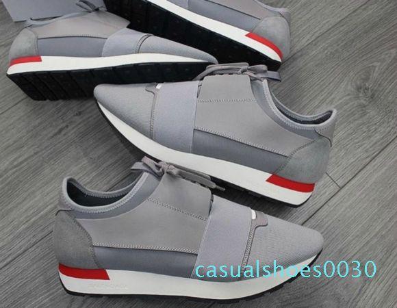 Бесплатная доставка Канье Уэст Бэйл nciaga низкий топ кроссовки мужчин и женщин кожаный бизнес Повседневная обувь Парижская мужская дизайнер обуви 35-47 С30
