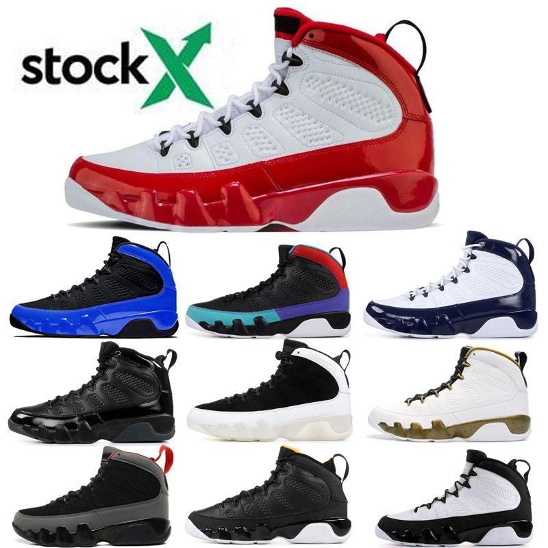 2020 9 رياضة الأحمر المتسابق الأزرق ولدت دريم وهل لأنها UNC 9S الفضاء المربى الحرباء لكرة السلة أحذية رجالية كول رمادي انثراسايت حذاء رياضة