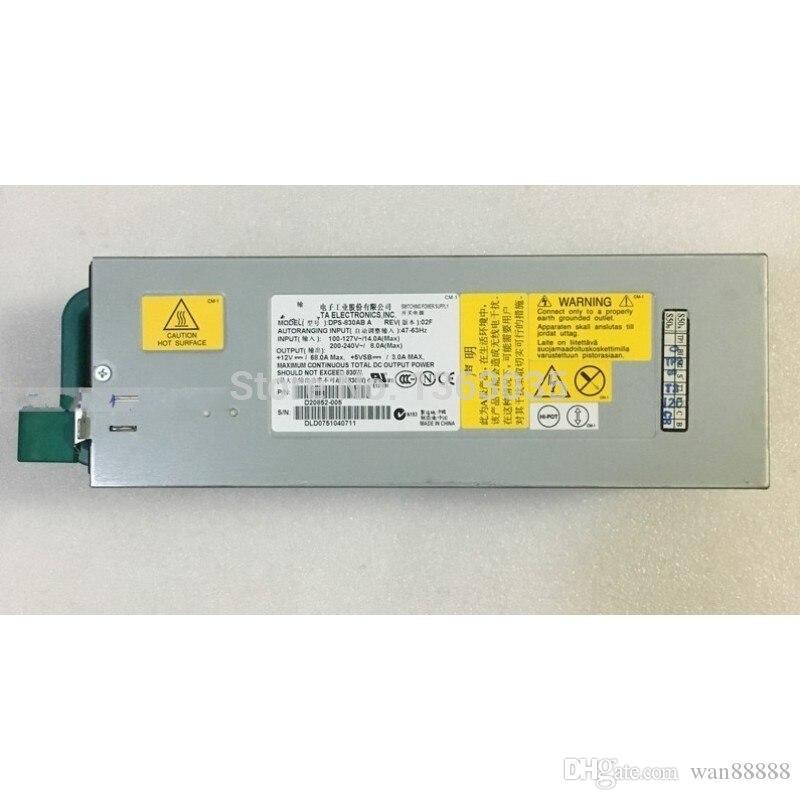Lavoro testato al 100% Perfetto per DPS-830AB A D20852-005 Alimentatore per server 830W PSU