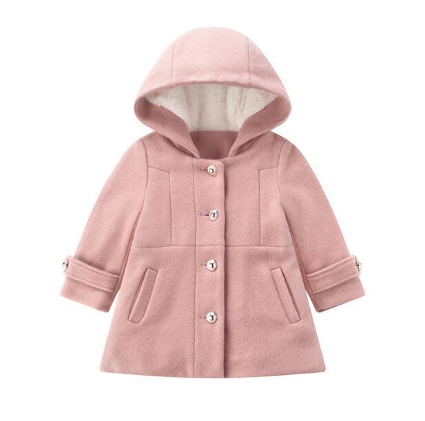Giacca a vento in velluto per bambini 2020 Abbigliamento Per Bambini Autunno e inverno un nuovo cappotto di velluto per bambini WY846