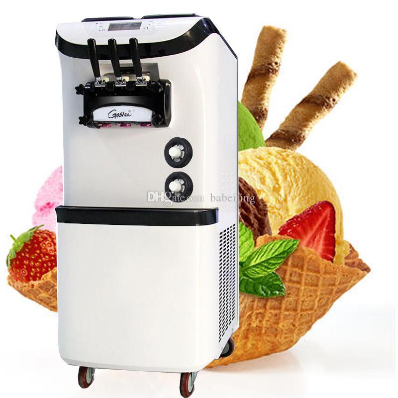 Popular di alta qualità della macchina gelato macchina del gelato rotolo gelato soft drink 3300W verticale istantanea nel 2020