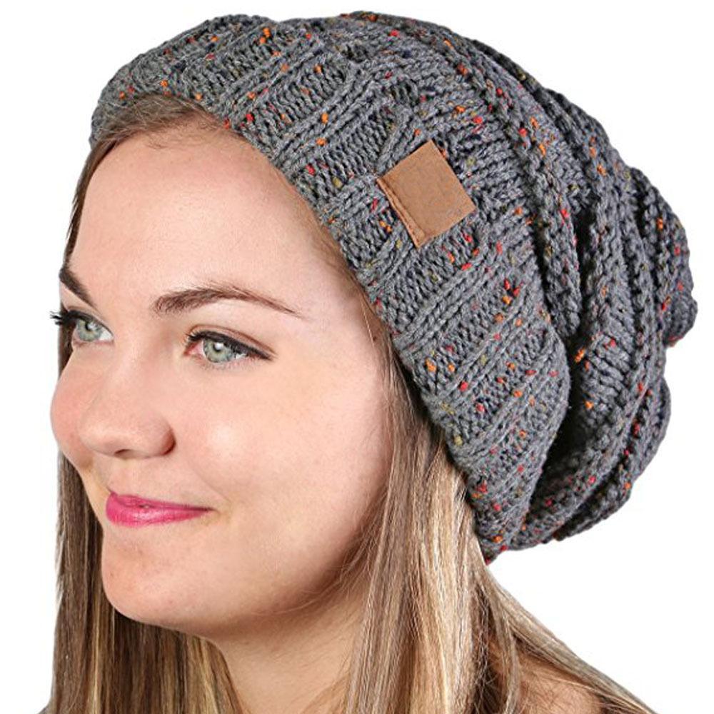 Mode féminine en gros automne et hiver doux chapeau chaud occasionnels bonnets tricotés chapeau en plein air chapeaux bonnets pour dames livraison gratuite