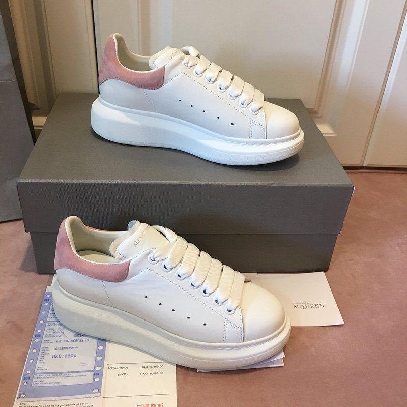 2018scarpe da uomo di conception de luxe femmes chaussures chaussures de sport de la plate-forme chaussures casual or scarpe MQ size35-44