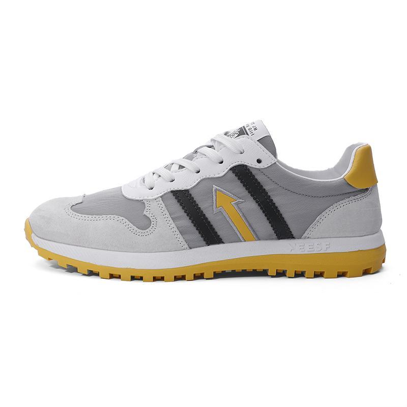 Chaussures pour hommes en été, perméable à l'air, tout autour de petites chaussures blanches, version coréenne des étudiants, chaussures Gump, chaussures en tissu occasionnels hommes