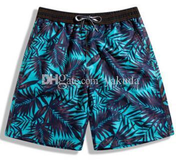 Desconto barato calças de praia dos homens soltos edição swimwear à beira-mar férias surf natação calções à deriva, calção de banho troncos maiôs