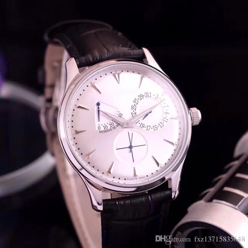 Luxus populäre Männer JL Master Serie 1378420 Clowns Uhrengeschäft Typ 316 Edelstahl Tianjin Bewegung mechanische automatische Sportuhr ge