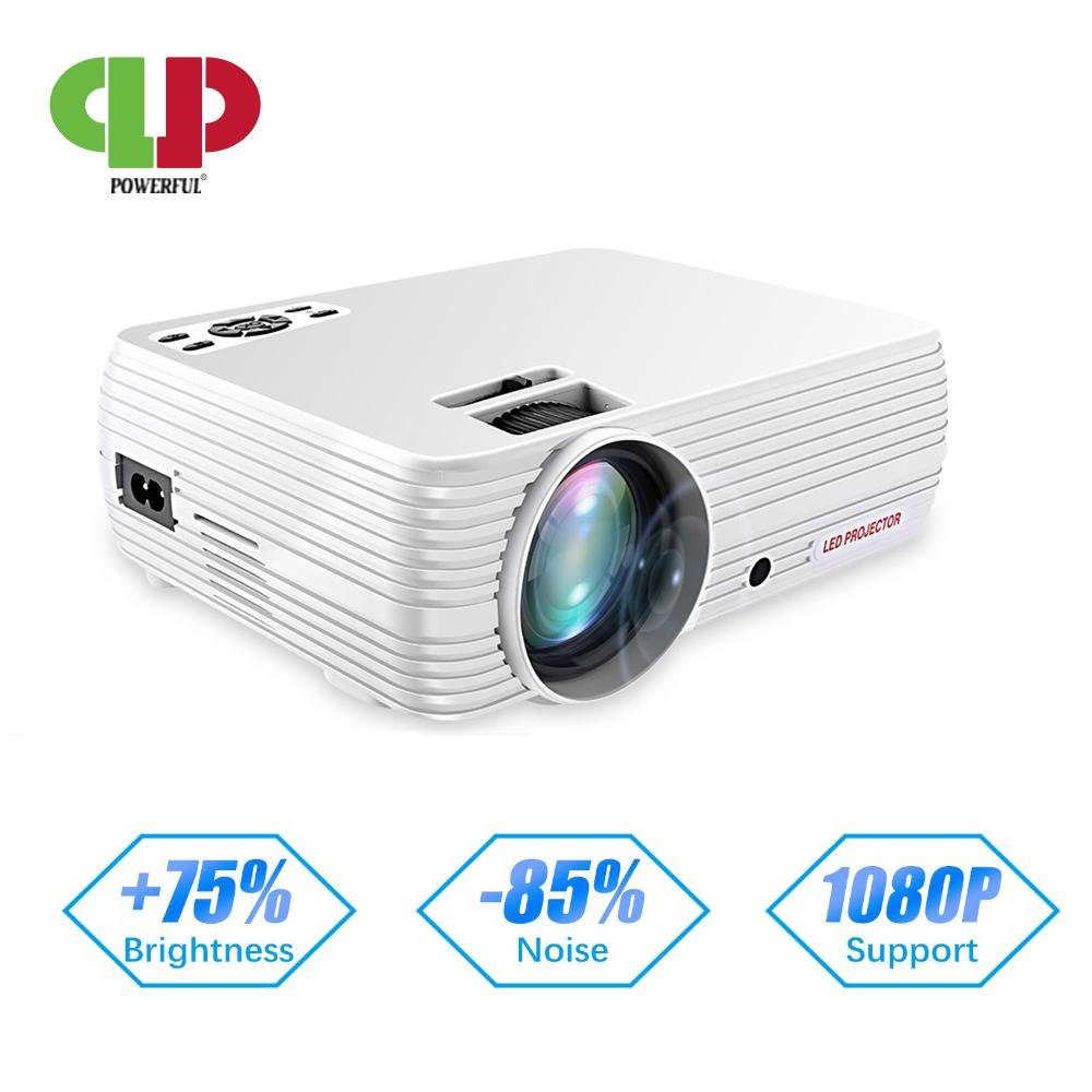 POWERFUL Support 720P Projector X5 Media Player 3D Home Cinema Play Game USB connect Phone Laptop TF card Video Beamer Proyector