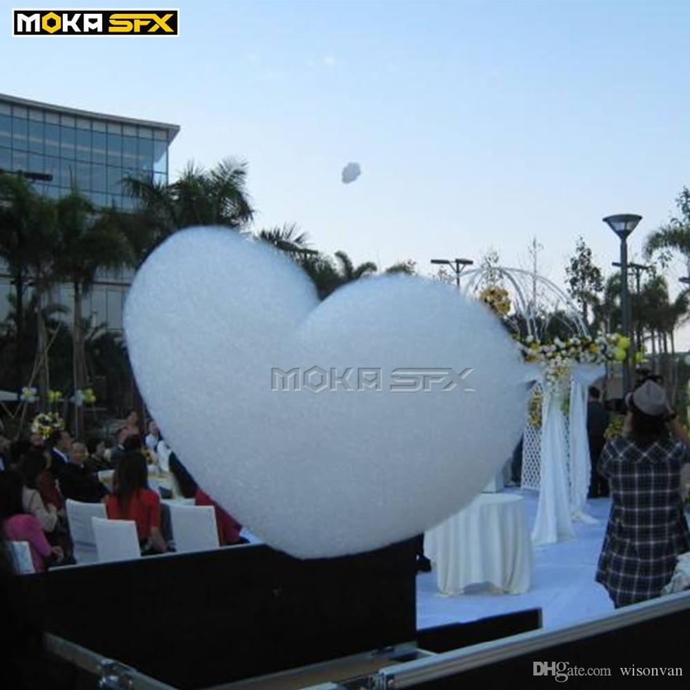 Облако Maker машина красочные пузырь пены машина течет лететь до пены случай полета облака упаковки для свадебного торжества