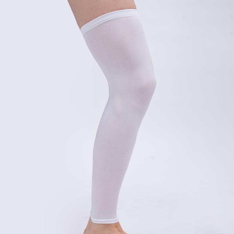 Knee mangas Fina Suporte Brace Protector aquecedores alta Elastic rótula Kneelet para esportes e desgaste diário G1 confortável e respirável