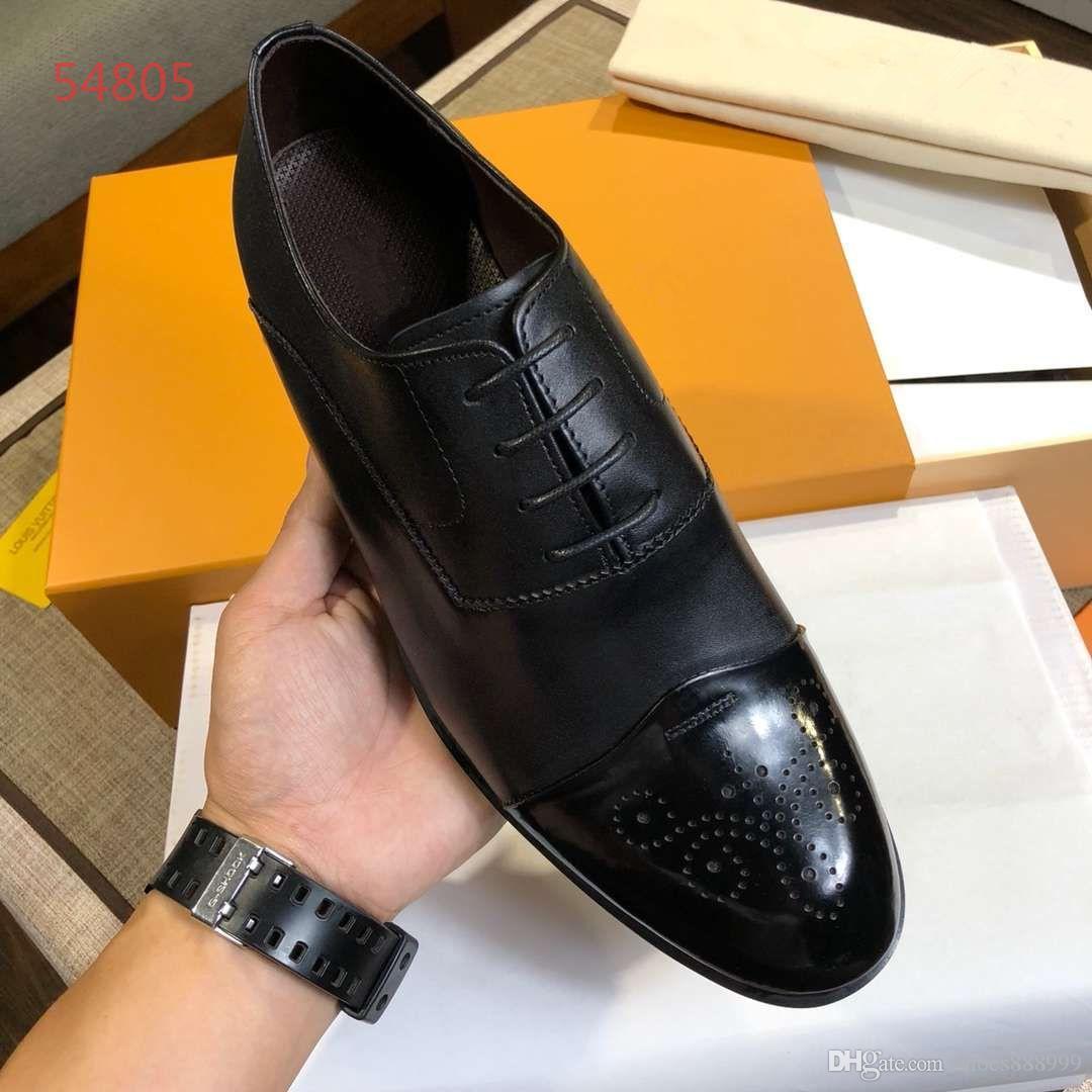 2019 Melhor Qualidade Trainer Velocidade Black Sneakers Homens Sapatos Casuais Moda Sneaker Couro Genuíno Top Size38-45 A4