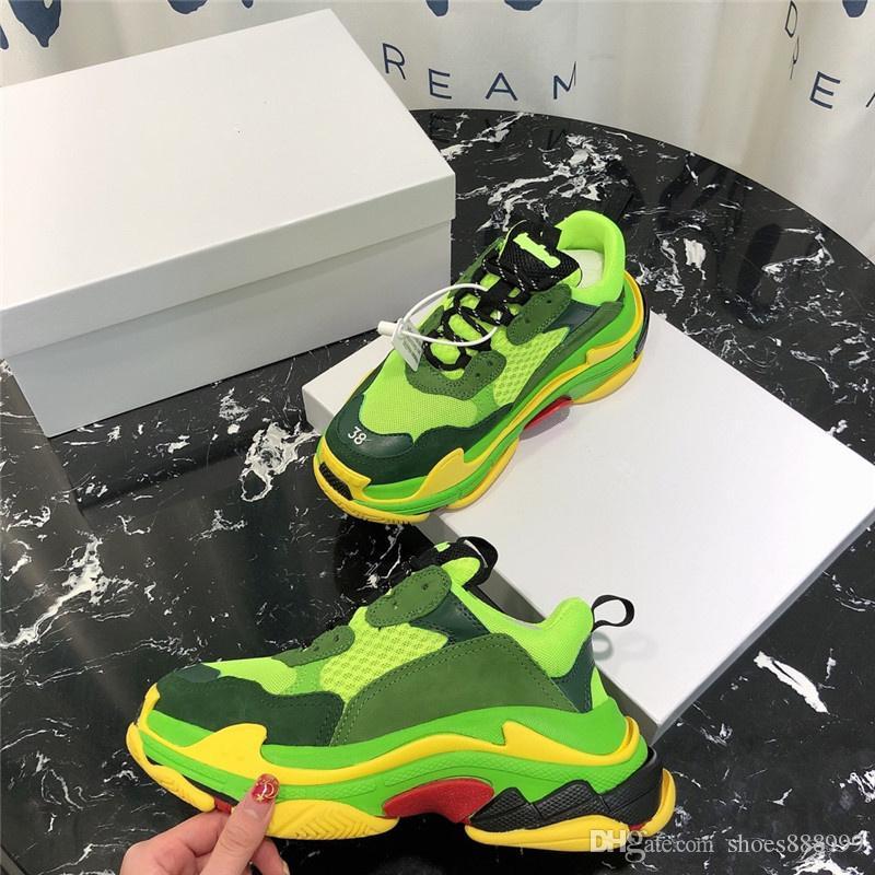 2019 Uomini Donne Papà scarpe scarpe casual Lightweght respirabili amanti piedi scarpe 35-45 libero di trasporto A1