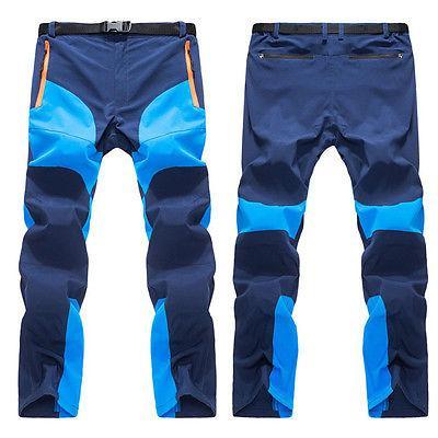 Mens Pantaloni tattici impermeabili pantaloni da lavoro Climbing combattimento Cargo Escursionismo Sci