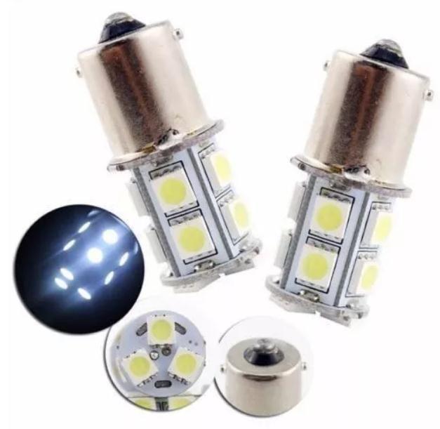 12V DC Xenon blanche inversée de sauvegarde LED 360 ° Ampoule S25 / BA15S-13SMD5050-3chips remplacement pour Camper lumière de frein de voiture Bande LED Eclairage