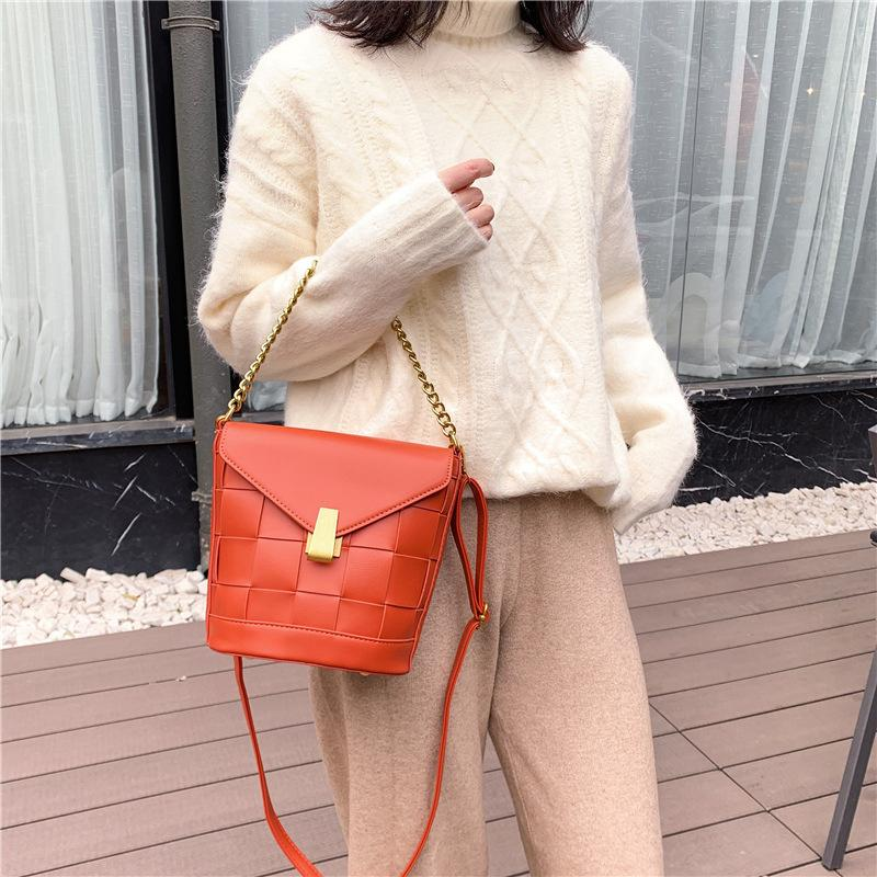 Tecido Moda Ombro 2020 Nova Saco de Lazer Mola Sacos Bolsas Saco UjfxJ