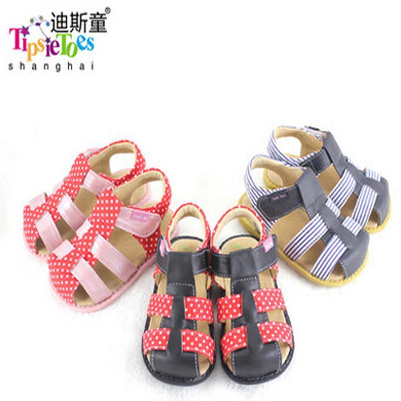 Tipsietoes Marca 2020 zapatos de moda las niñas bebé sandalias respirable suave cómodo fresco Niños Hijos Hombre 21032 Piel CX200703 informal