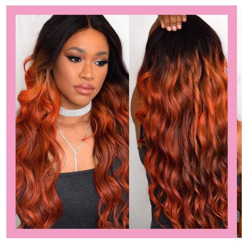 الماليزي شعر الإنسان العذراء الشعر 1B 350 أومبير اللون مزدوجة لحمة 3 حزم جسم موجة 1B / 350 ملحقات الشعر ثلاث قطع