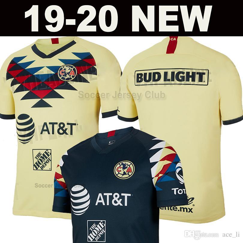 19 20 Club America soccer jersey Mexico LIGA MX 2019 2020 Guadalajara Chivas Football Shirt kit Thailand quality Camiseta de futbol