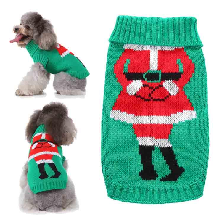 Christmas Dress Coats Funny Party Holiday Decoration Clothes Pet Puppy Cats Clothing Pet Dog Santa Costumes winter pet clothes sweater