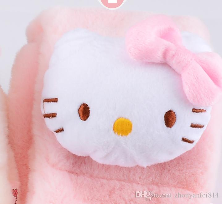 f4224f8e4 ... Children scarf Kitty Cat's Furry Neck Warmth Babies and Girls Soft and Thick  Cartoon Children Sprouting