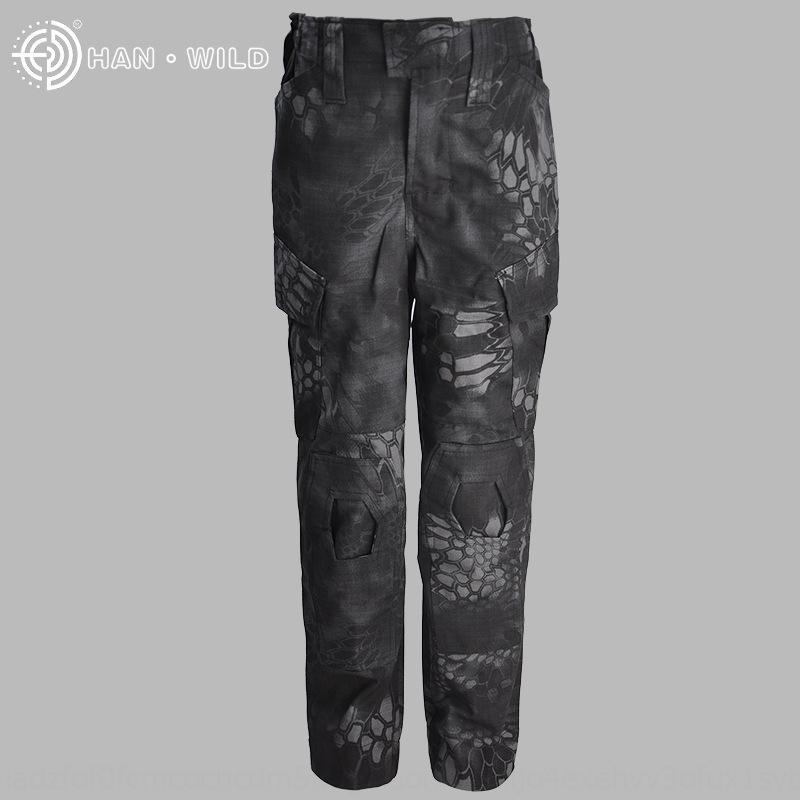 roupas 3I9jK Hanye G3 infantis sapo roupas sapo calças de roupas infantis cpcamouflage dos homens e das forças especiais das mulheres treinando Clothin