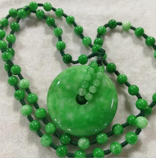 Wholesale new natural jade jade jade ring pendant