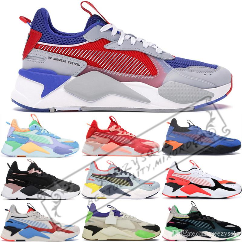 High Quality RS-X Toys Reinvention Mens Running Shoes New stylist Hasbro Transformers Fashion Womens RS X Sneakers Size 36-45