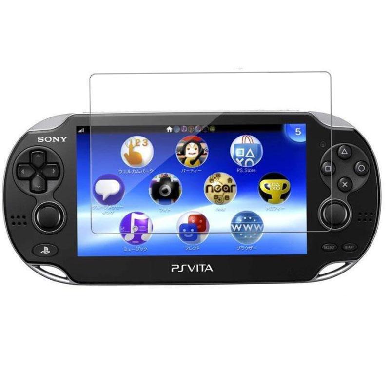 부드럽게 한 유리제 명확한 풀 HD 스크린 보호자 덮개는 보호 필름 소니 스테이션 게임 PS Vita PSV1000 2000 콘솔