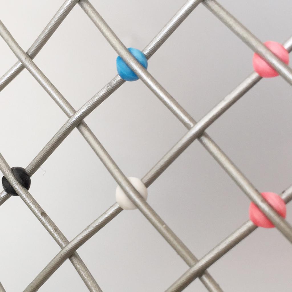 Tennis String Cross Saver Guard Applikator Schlägerlinien Nachfüllungen Cross