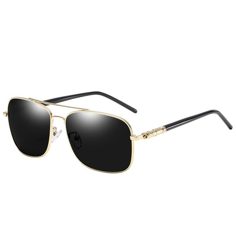 Occhiali da sole polarizzati da uomo, occhiali da sole da uomo, occhiali da sole polarizzati, occhiali da sole polarizzati, occhiali da sole anti-riflesso per la notte 2019 nuovi