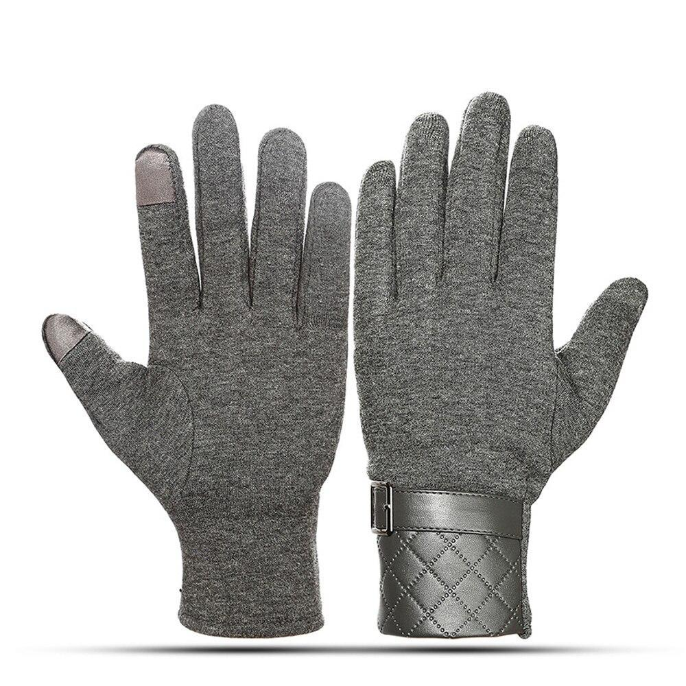 Man Outdoor-Winter-warme weiche Handschuhe Thermal Ski Winter Fleece Wasserdicht Snowboard Handschuhe Laufen Wandern Skifahren einen.Kreislauf.durchmachenhandschuh