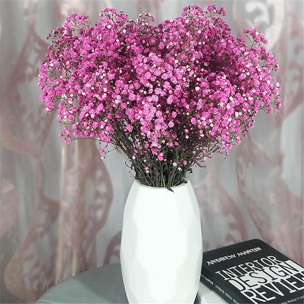 2020 110g Natural Dried Immortal Baby Breath Flowers Bouquets Real
