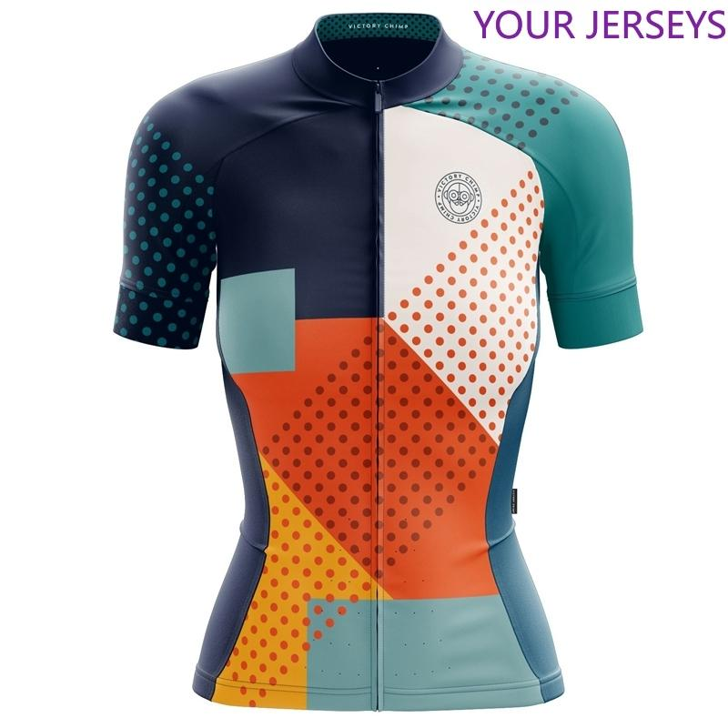 Victoire C Femmes Cyclisme Jersey 2020 Nouveau cycle Vêtements Tops manches courtes CoolMax VTT Femme Vetement Couleur vive Vêtements de sport FXR