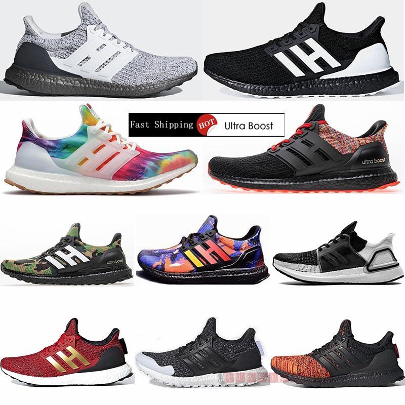 Adidas 2021 Ultraboost 3.0 4.0 zapatos corrientes Ultra Boost 19 20 Primeknit Entrenadores para hombre Orca Woodstock Triple Negro mujeres de las señoras zapatillas deportivas