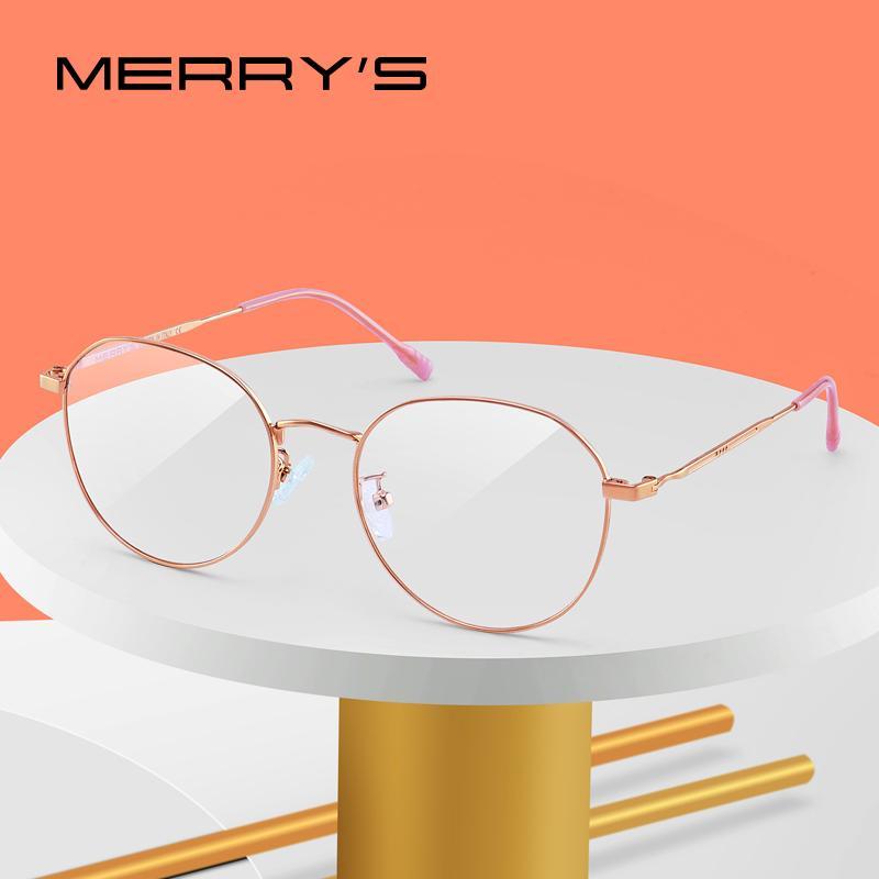 MERRYS DESIGN Damenmode Trend Brillengestell Damenbrillen Kurzsichtigkeit Optische Brillen S2043