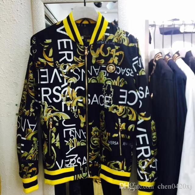 Ücretsiz Kargo Yeni 2019 İlkbahar Ve Sonbahar Dönemi Ve Moda Eğlence Ceket Ceketler Menswear12 Için Çift Ceket