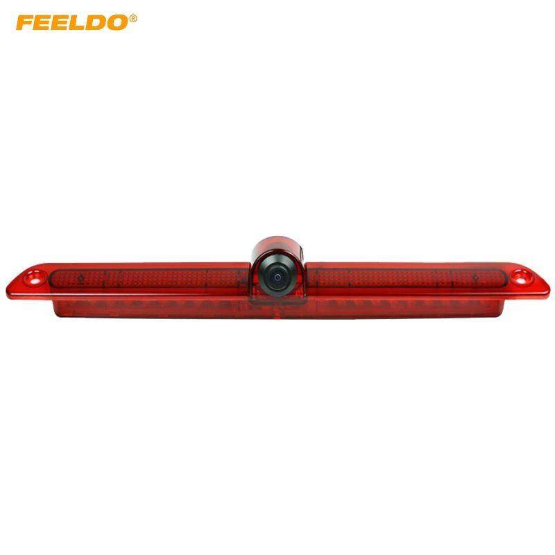 FEELDO Car Brake Light Rear View Parking Camera For Mercedes Sprinter Volkswagen Crafter With Brake Lamp #5209
