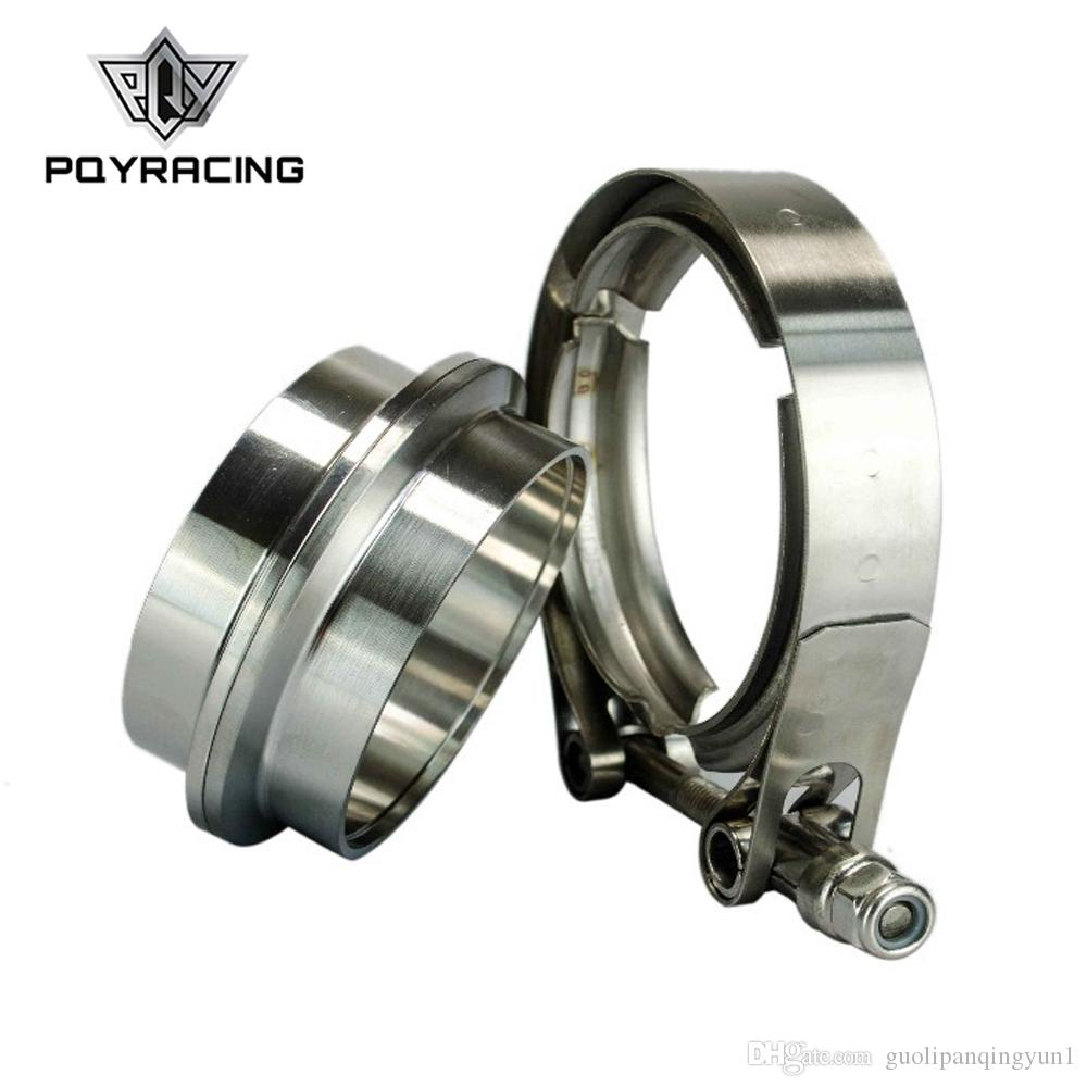 2in exhaust downpie V-band clamp 2.0 Stainless Steel Flange Kit Male-Female