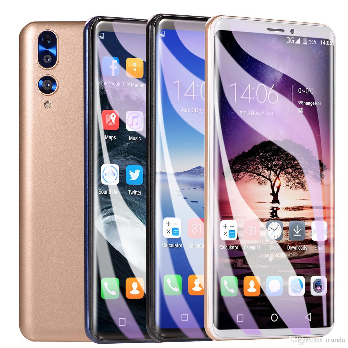 5.72 Inch P20 Mtk6580 Четырехъядерный смартфон 512 МБ Ram 4 ГБ Rom 5MP Камера Мобильный телефон 4 цвета В наличии Wifi Показ 4 ГБ оперативной памяти 32 ГБ Rom Hot