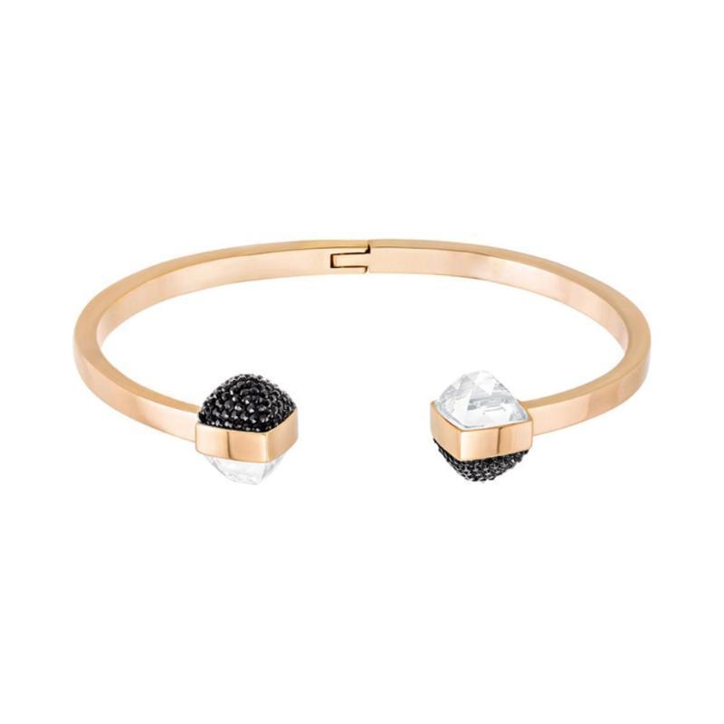 High-quality SWA personality open Bracelet 100 corresponding fashion design, high-level model production lady bracelet Jewelry