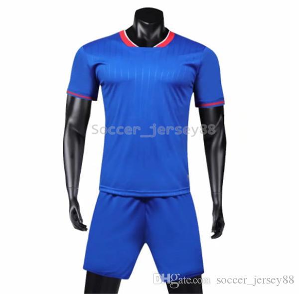 Nouvelle arrivée en jersey de soccer Blank # 1905-1983 customize Vente Hot Top qualité séchage rapide uniformes T-shirt de jersey de football