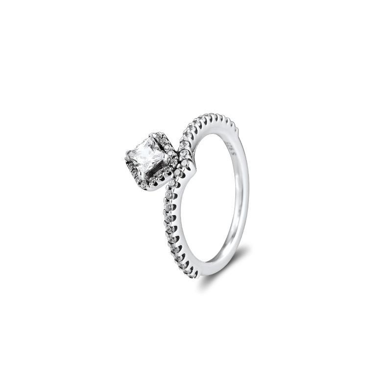CKK anneaux géométriques Bagues de femmes Hommes Anillos Mujer argent sterling 925 Para plata Bague bijoux de fiançailles de mariage