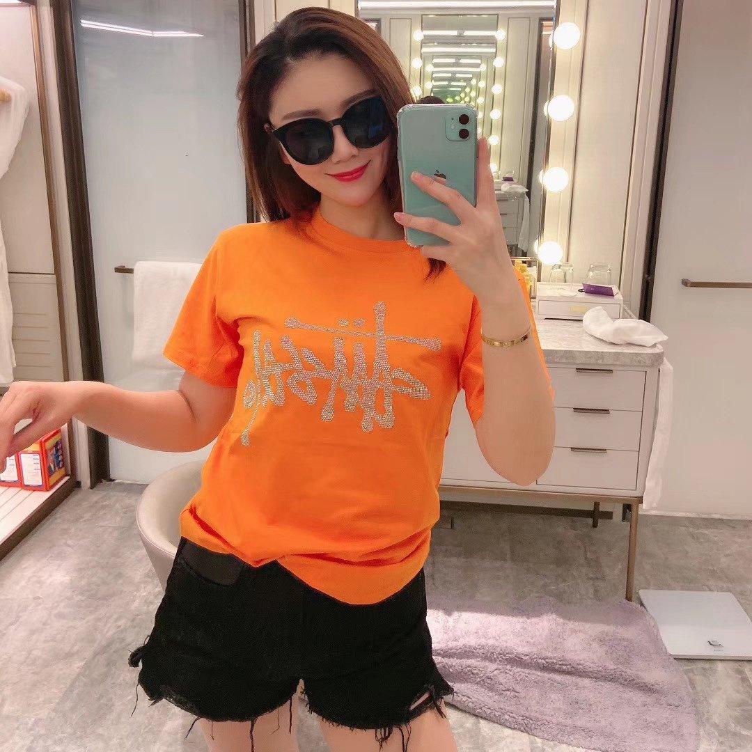 Femmes T-shirt décontracté Mode T-shirt Taille S M L Confortable chaud WSJ000 # 112567
