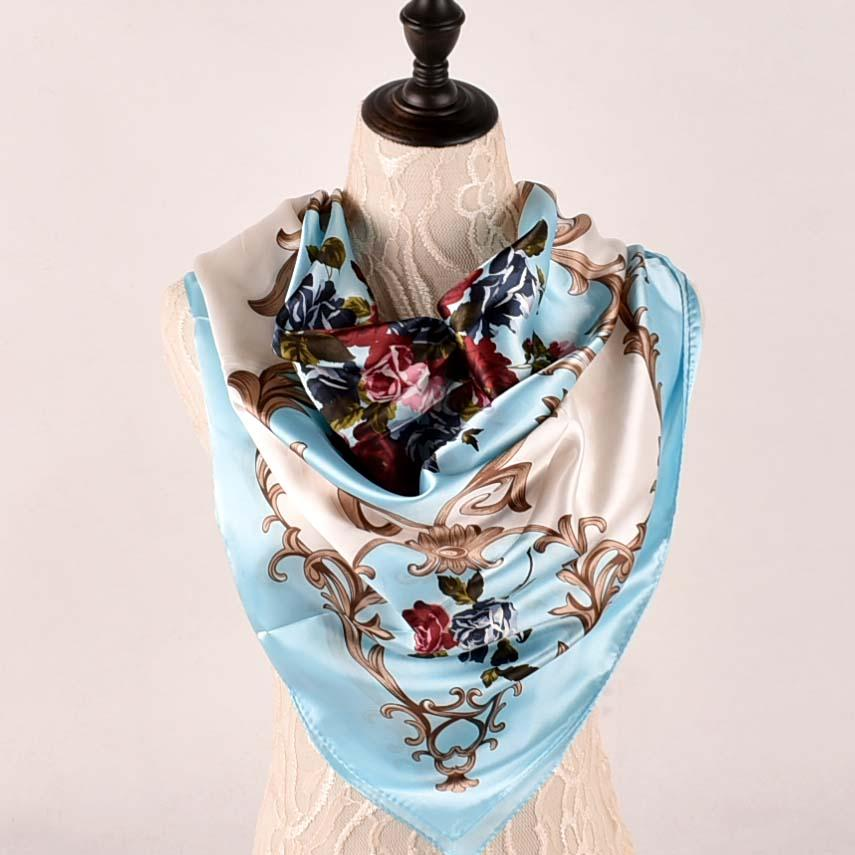 US SELLER retro flower infinity scarf wholesale scarf women