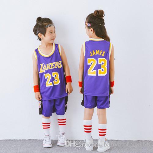 basket pratica jersey brevi combo per Top ragazzi 2 pezzo serbatoio prestazioni di basket e di breve set regalo di compleanno per i bambini piccoli