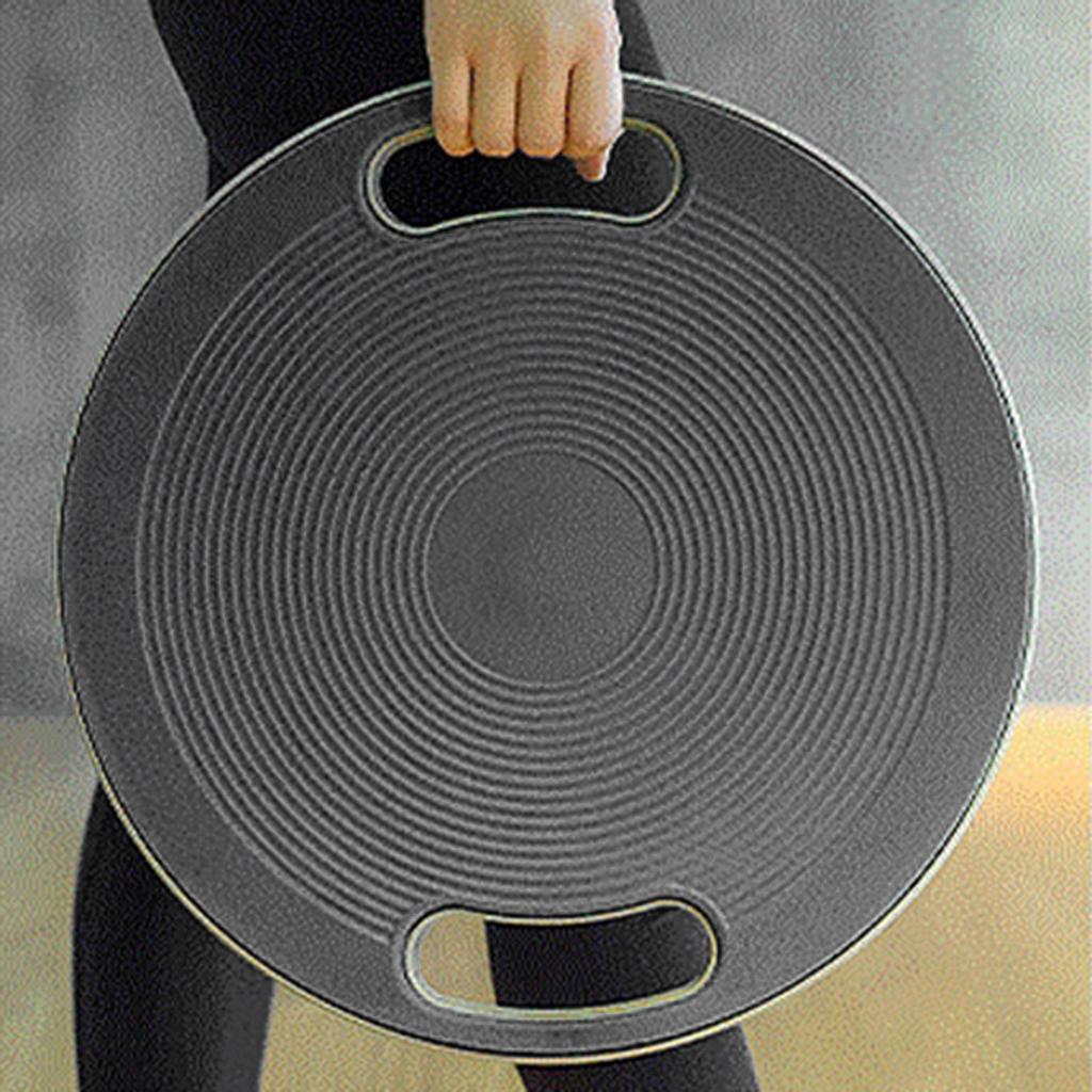Yoga bamboleo Balance Board Ejercicio entrenamiento de la aptitud del disco de superficie antideslizante