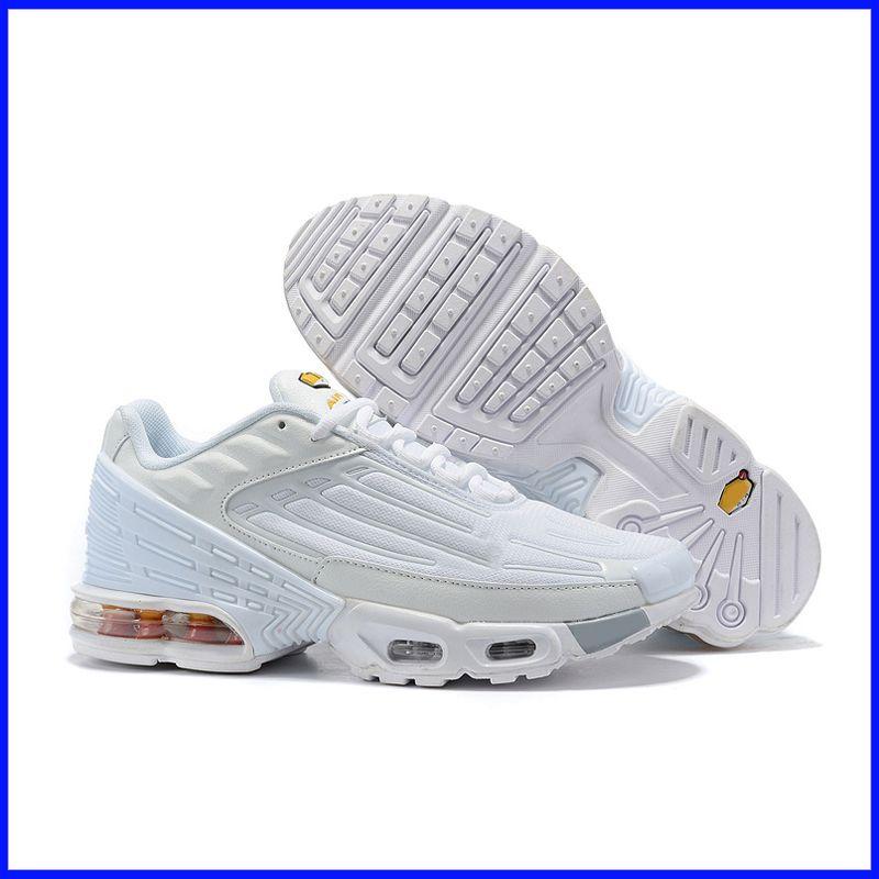 Marca TN Plus 3 zapatillas de deporte para hombre del diseñador de zapatos al aire libre Tns gimnasia de zapatos Blanco Negro Azul Rojo deportivo Entrenadores Chaussures